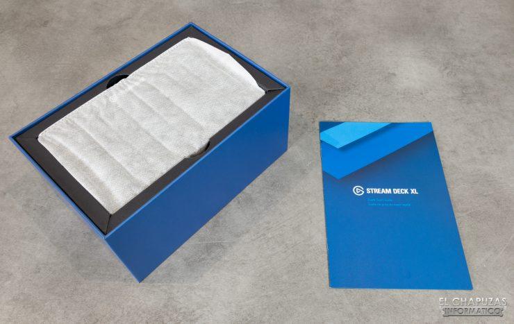 Stream Deck XL Embalaje Interior
