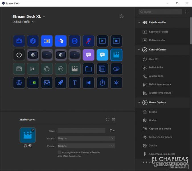 Stream Deck XL Software 1