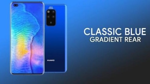 Huawei Mate 30 Pro azul 1