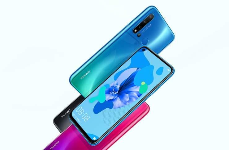 Huawei Nova 5, Nova 5 Pro Nova 5i