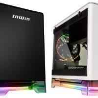 In Win A1 Plus, chasis Mini-ITX con fuente, iluminación RGB y carga inalámbrica