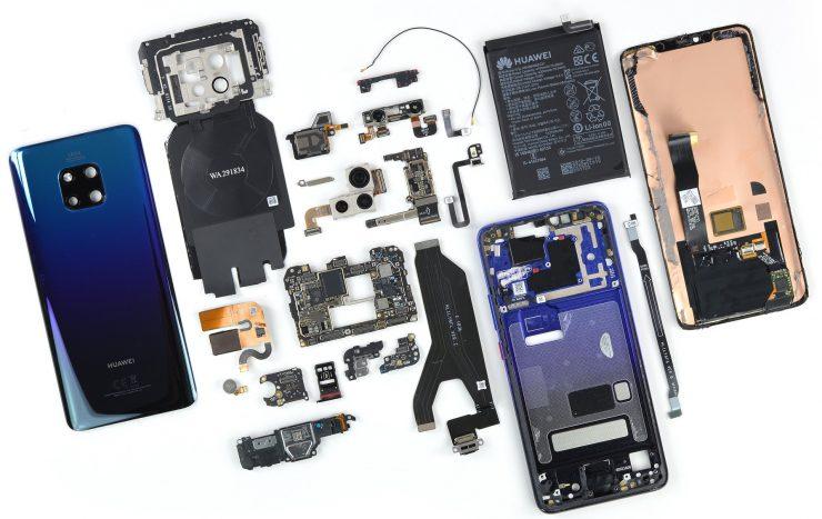 Interior del Huawei Mate 20 Pro 740x467 0