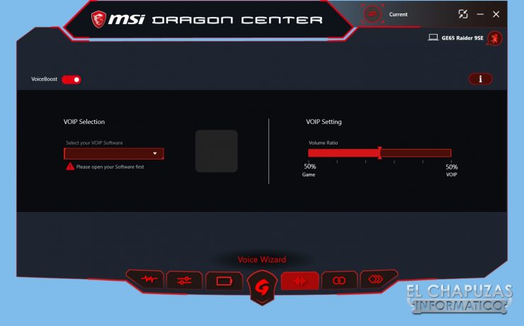 MSI GE65 Raider 9SE - Software 5