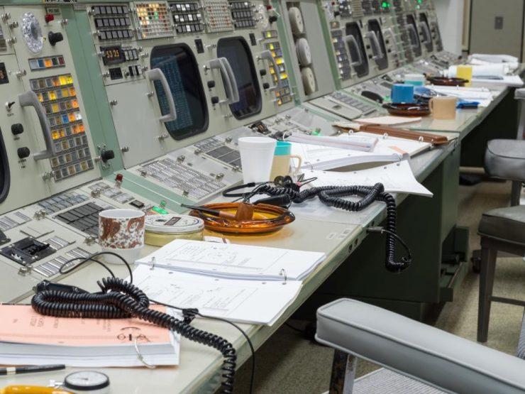 NASA Centro de Control Apollo 11