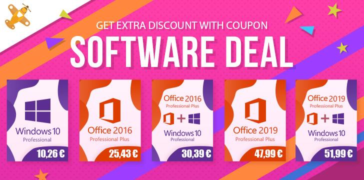 Oferta licencia Microsoft WIndows y Office 0