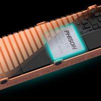 Phison muestra un nuevo benchmark de su controladora SSD PS5018-E18, ya roza los 7.400 MB/s