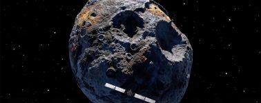 La NASA anuncia sus planes para llegar a Psyche 16: un meteorito de oro que nos haría millonarios a todos