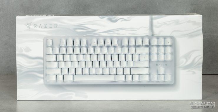 Razer Blackwidow Lite Mercury - Embalaje 1