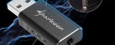 Sharkoon Gaming DAC Pro S: DAC USB para tener audio de Alta Definición por 29.99 euros
