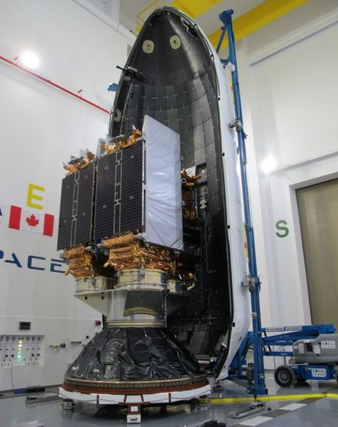 SpaceX RadarSat Constellation