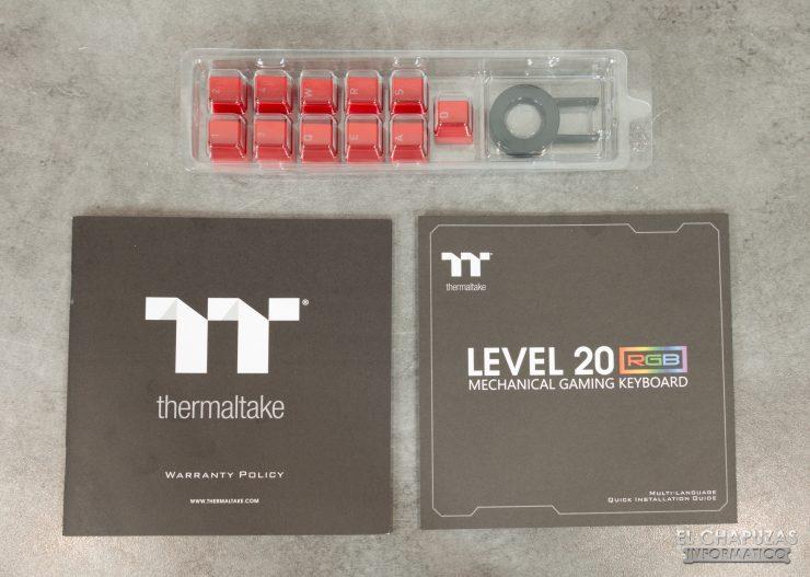 Level 20 RGB Cherry MX - Accesorios