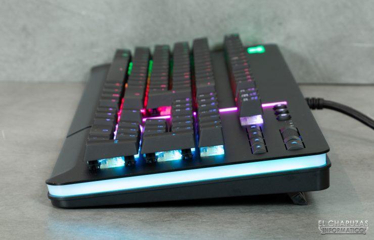 Thermaltake Level 20 RGB Cherry MX - Vista Lateral Derecha