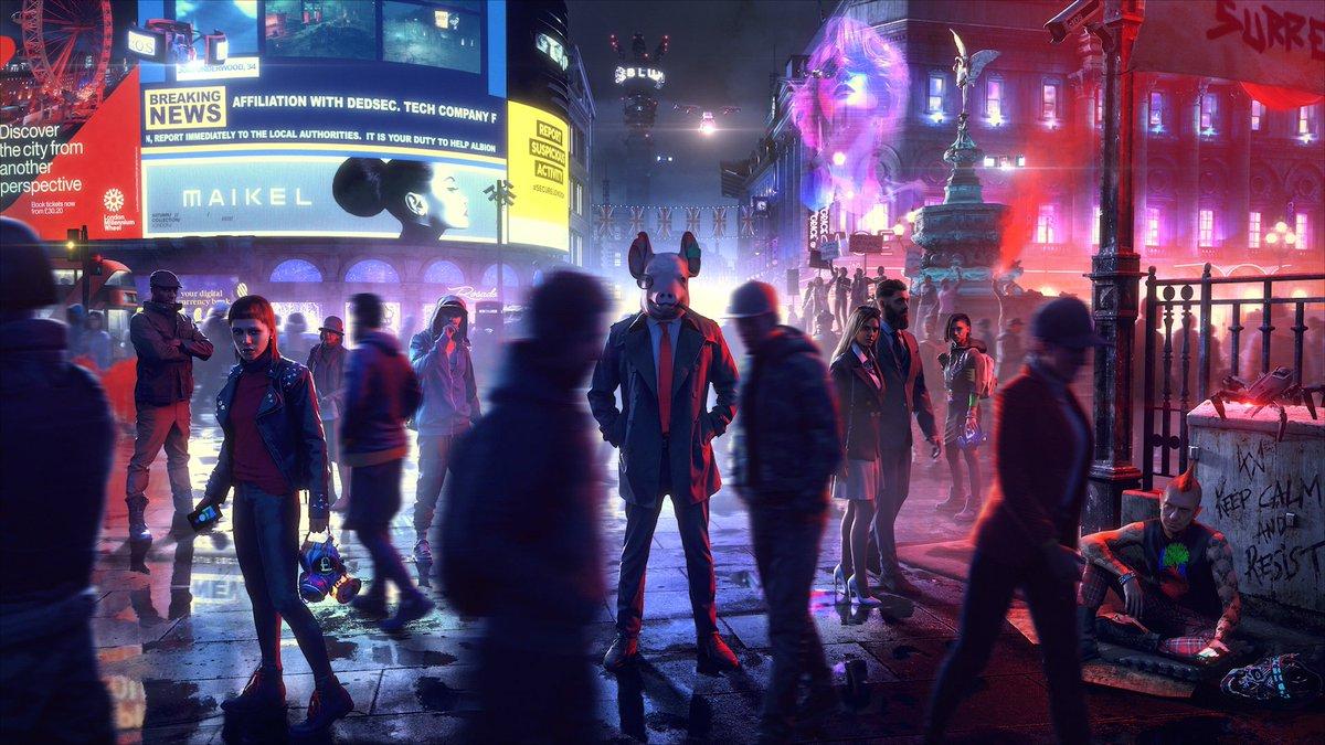 El multijugador de Watch Dogs: Legion se retrasa hasta el próximo año