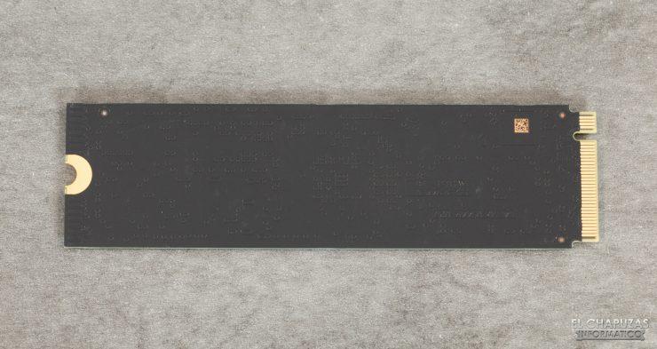 SN750 NVMe SSD - PCB Trasero