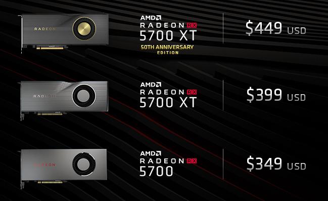 Resultado de imagen para AMD Radeon RX 5700