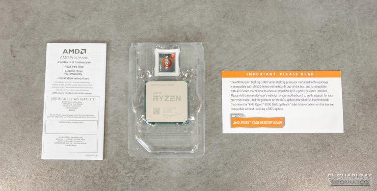 AMD Ryzen 9 3900X - Accesorios