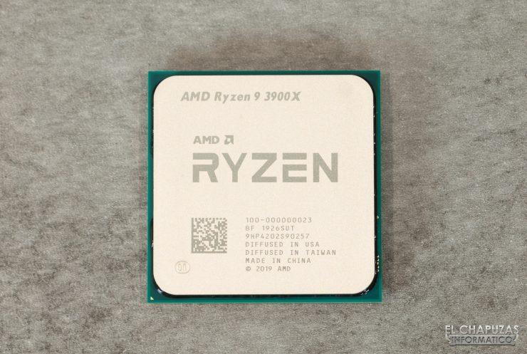 AMD Ryzen 9 3900X - vista superior