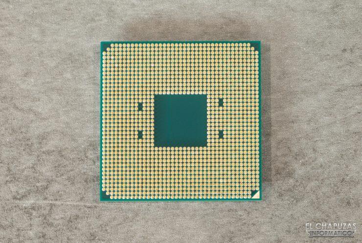AMD Ryzen 9 3900X - vista inferior