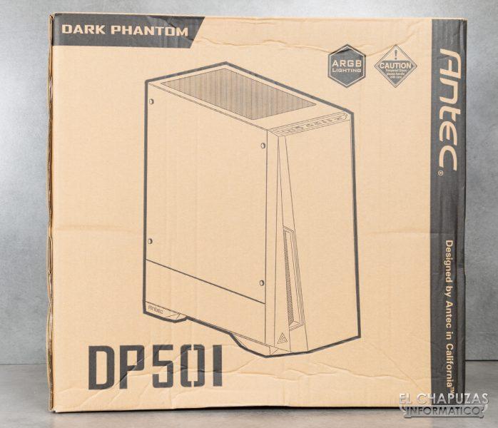 Antec DP501 Dark Phantom - Embalaje 1