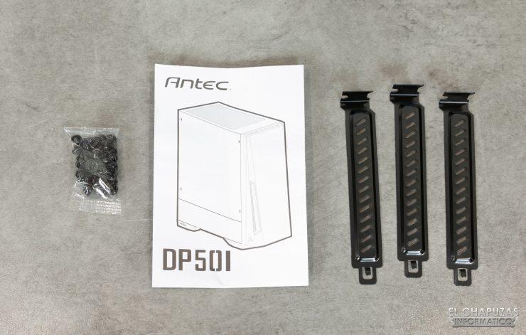 Antec DP501 Dark Phantom - Accesorios