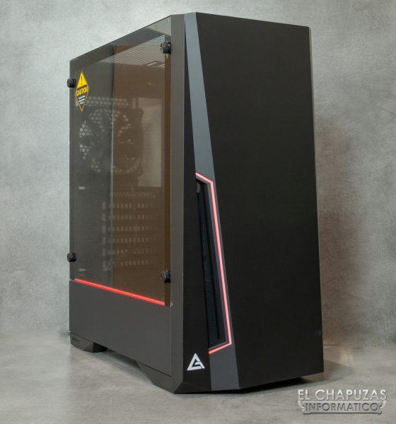 Antec DP501 Dark Phantom - Exterior