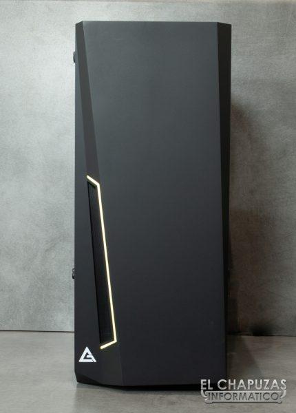 Antec DP501 Dark Phantom - Frontal
