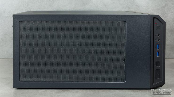 Antec DP501 Dark Phantom - Lado superior