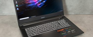 Review: Gigabyte Aorus 7 SA (Core i7-9750H + GTX 1660 Ti)