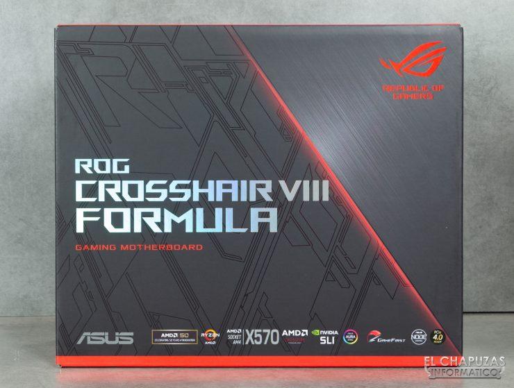 Asus ROG Crosshair VIII Formula - Embalaje Frontal