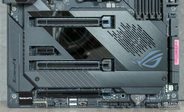 Asus ROG Crosshair VIII Formula - Slots PCIe 4.0