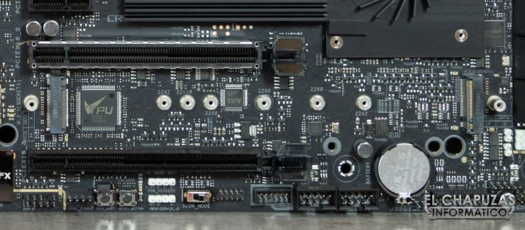 Asus ROG Crosshair VIII Formula - Slots M.2 PCIe 4.0