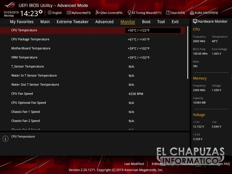 Asus ROG Crosshair VIII Formula BIOS 5 740x555 48