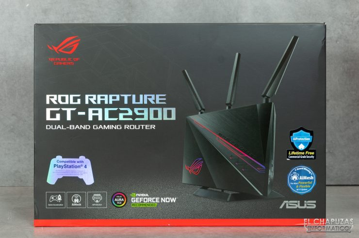 Asus ROG Rapture GT-AC2900 - Embalaje 1