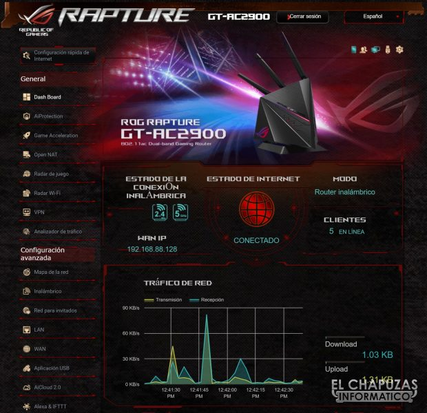 Asus ROG Rapture GT AC2900 Firmware 4 620x600 19