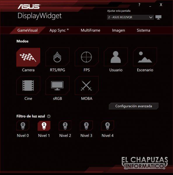 Asus ROG Strix XG32VQR - Pruebas 8