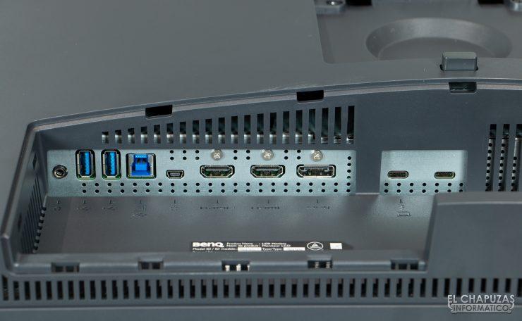 BenQ PD2720U - Conexiones