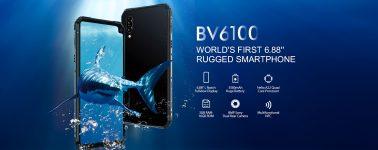 Blackview BV6100: El primer smartphone rugerizado que alcanza las 6.88 pulgadas