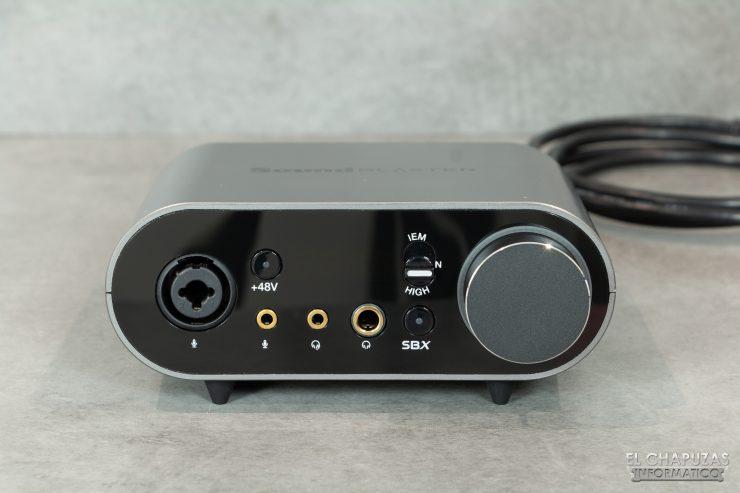 Módulo de control externo de la Creative Sound Blaster AE-9
