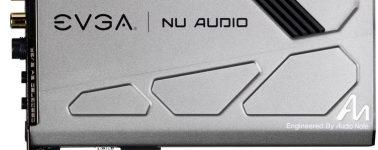 EVGA lanza su tarjeta de sonido gaming NU Audio en Europa por 249 euros