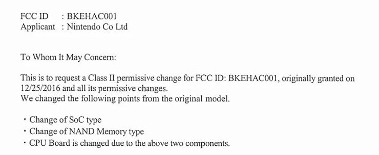 FCC posible Nintendo Switch Pro 740x304 0