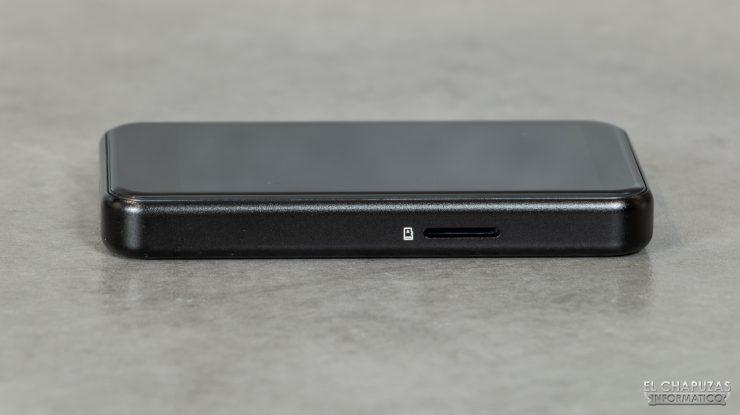 FiiO M6 - Ranura microSD