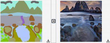 GauGAN, la IA de Nvidia que te permite hacer de un 'Paint' una obra de arte