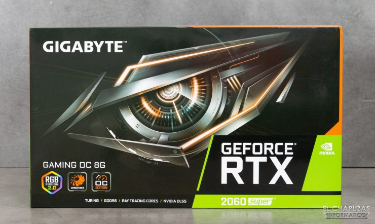 Gigabyte GeForce RTX 2060 SUPER Gaming OC 8G - Embalaje 1