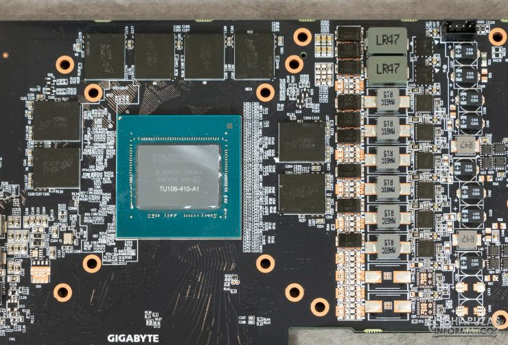 Gigabyte GeForce RTX 2060 SUPER Gaming OC 8G - Núcleo TU106