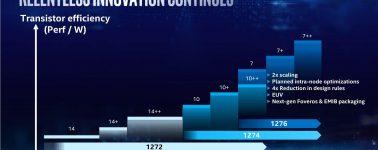 Intel planea lanzar su primera CPU @ 7nm en el año 2021, los 10nm para este año