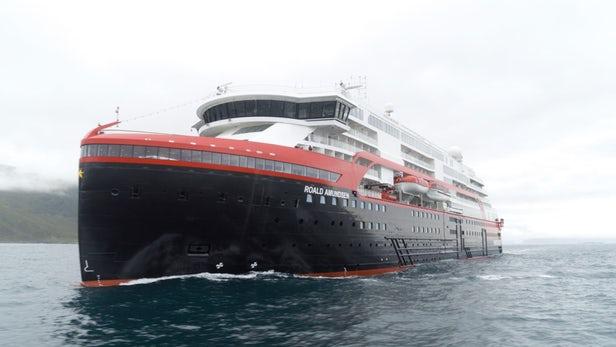 MS Roald Amundsen Barco Crucero híbrido