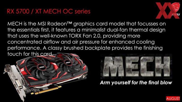 MSI Radeon RX 5700 MECH 740x416 0