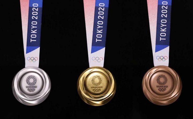 Medallas Olímpicas Tokyo 2020