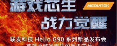 MediaTek Helio G90, el primer SoC Gaming de la compañía se anunciará a finales de este mes