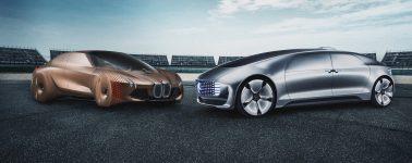 Mercedes-Benz y BMW se unen para el desarrollo de coches autónomos para 2024